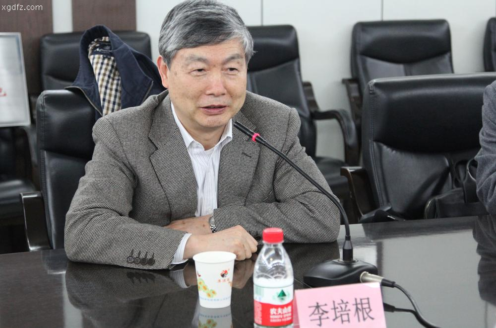 华中科技大学原校长李培根院士率团来我校走访